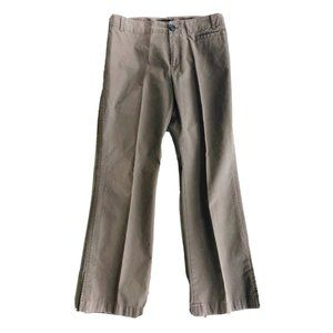 BR Martin Fit Olive Cropped/Ankle Pants 6